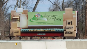 Billboard Advertising for The Mortgage Company
